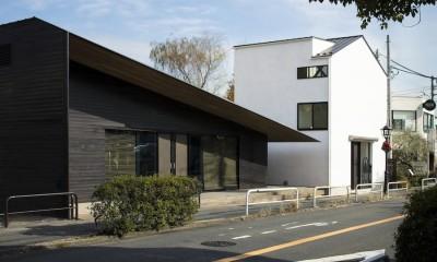 外観|鎌倉の店舗併用住宅OUCHI-39
