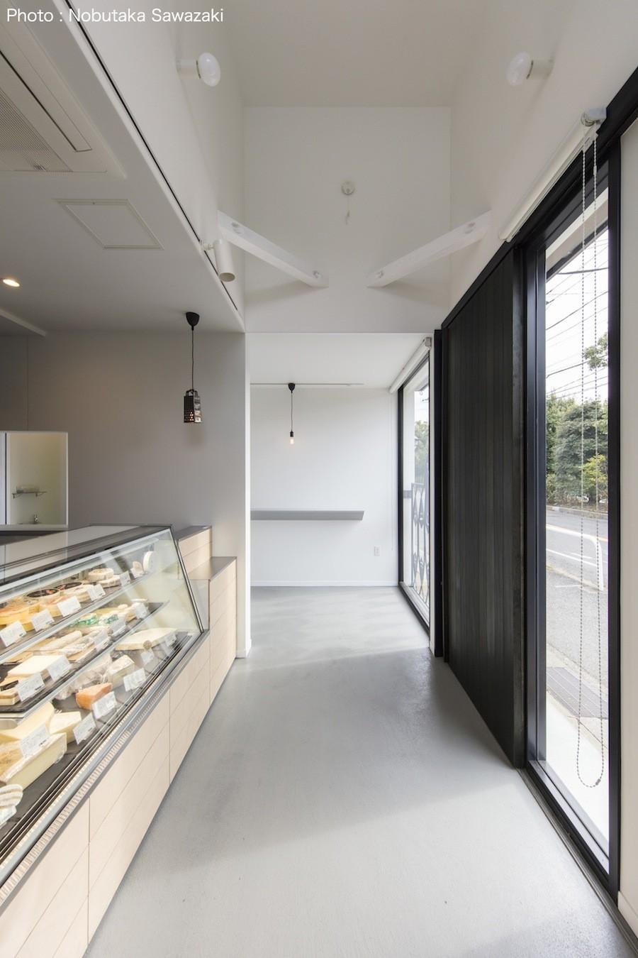 鎌倉の店舗併用住宅OUCHI-39 (1階店舗)
