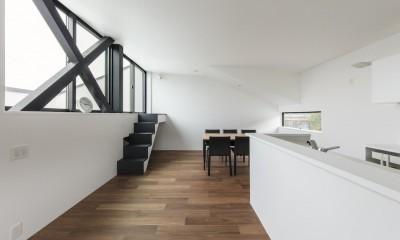 2階プライベートスペース|鎌倉の店舗併用住宅OUCHI-39