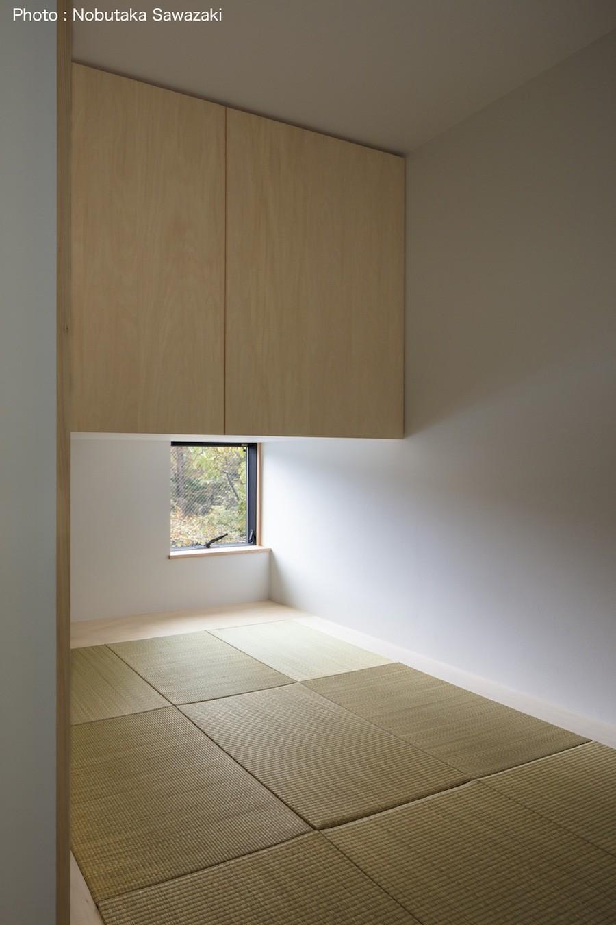 鎌倉の店舗併用住宅OUCHI-39 (2階プライベートスペース 和室)