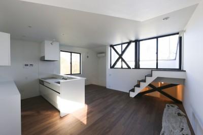 2階プライベートスペース (鎌倉の店舗併用住宅OUCHI-39)