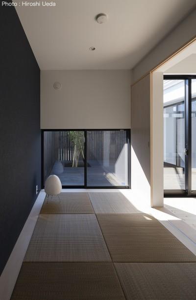 和室 (平屋デザインの家 OUCHI-41)