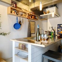 一番好きな場所、キッチン。