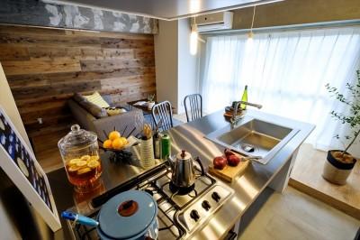 一番好きな場所、キッチン。 (Kitchen 023 日本橋小網町)