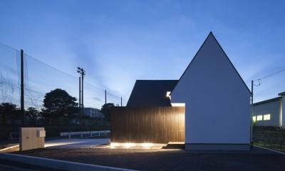 外観|平屋デザインの家 OUCHI-41