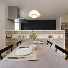 エアコン1台で家じゅうぽかぽか♪デザイン性の高い高気密・高断熱の家。