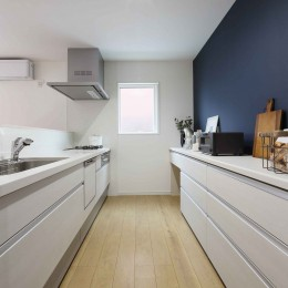 エアコン1台で家じゅう快適。デザイン性の高い高気密・高断熱の家。
