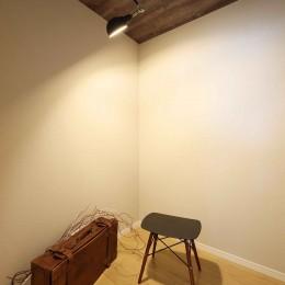 エアコン1台で家じゅう快適。デザイン性の高い高気密・高断熱の家。 (フリースペース)