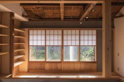 平塚の平屋 (リビング)