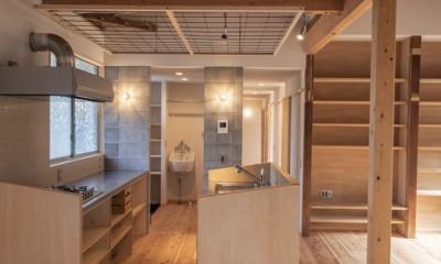 平塚の平屋 (キッチン)