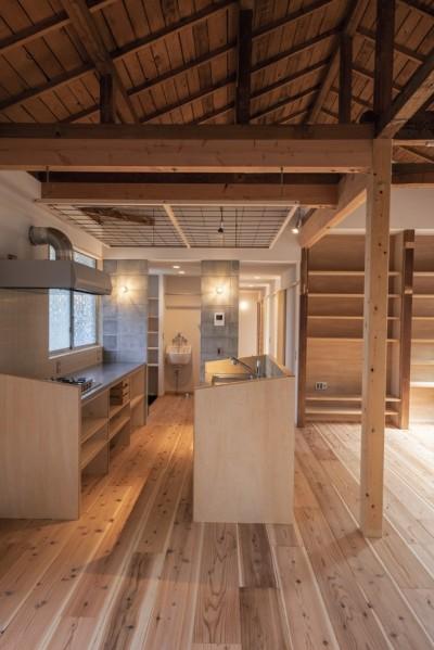 キッチン (平塚の平屋)