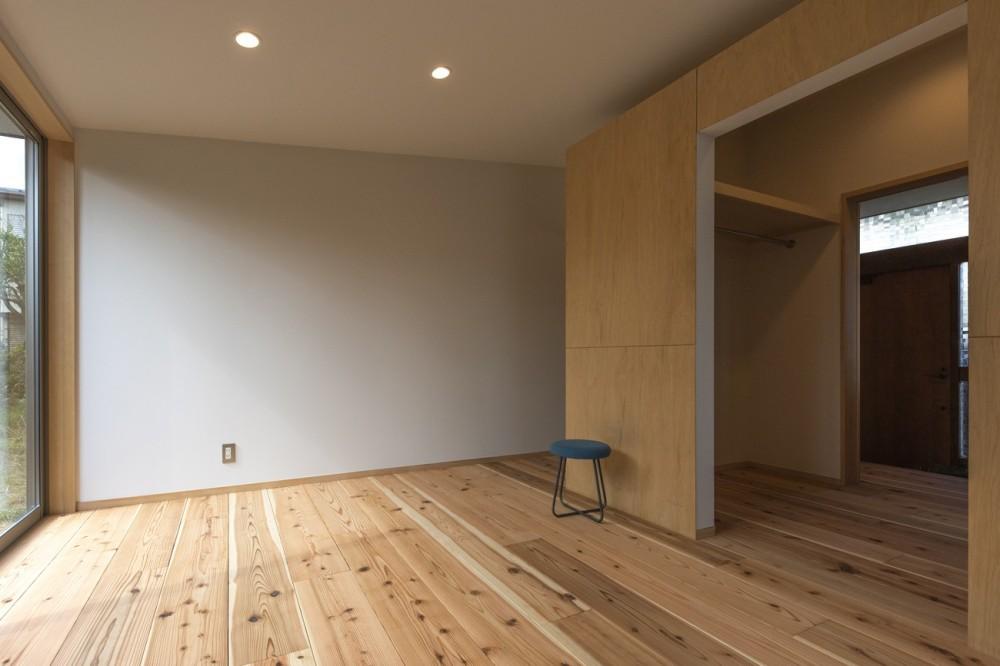 平塚の平屋 (寝室)