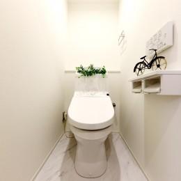 中古マンション・フルリノベーション_002「光と風が通りぬけるやすらぎの住空間」 (002「光と風が通りぬけるやすらぎの住空間」トイレ)