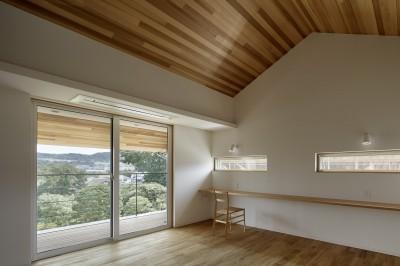 寝室/写真:繁田諭 (堀之内の家)