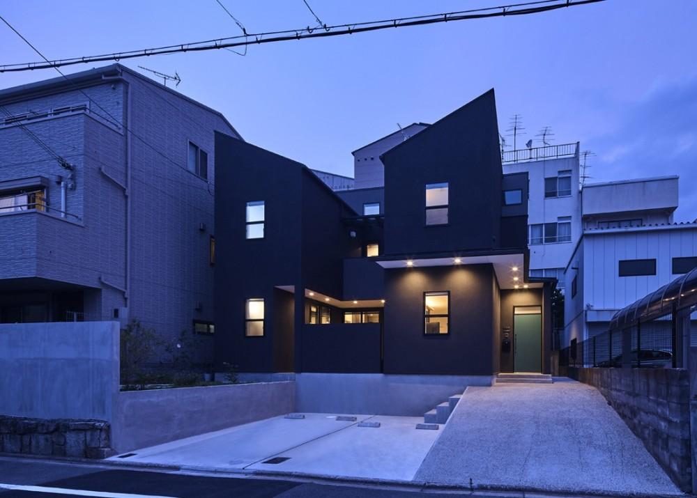 大将軍の家 (外観夜景)