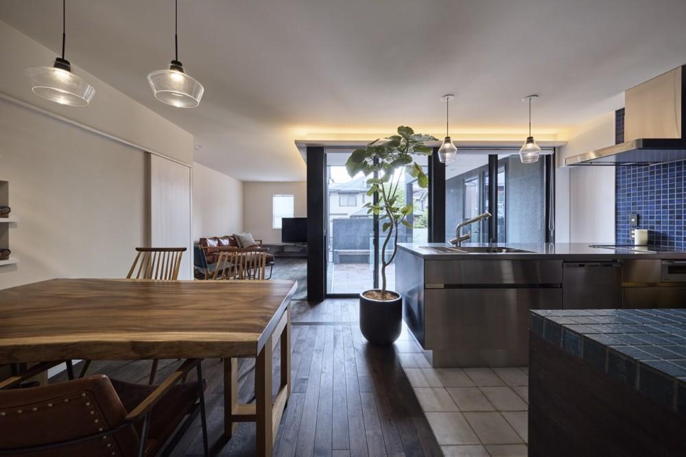 大将軍の家 (ダイニング+キッチン)