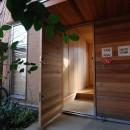 小さな家~緑の中で暮らす木のアトリエ付住宅~の写真 材料支給
