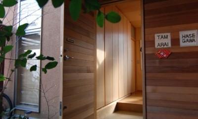 小さな家~緑の中で暮らす木のアトリエ付住宅~ (材料支給)