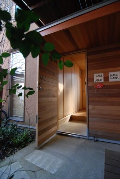 材料支給 (小さな家~緑の中で暮らす木のアトリエ付住宅~)