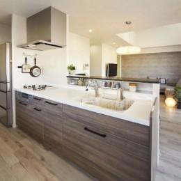 キッチン (ライフスタイルに合わせたリフォームで理想の暮らし)