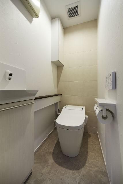 ライフスタイルに合わせたリフォームで理想の暮らし (トイレ)