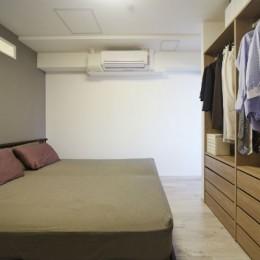 ライフスタイルに合わせたリフォームで理想の暮らし (寝室)