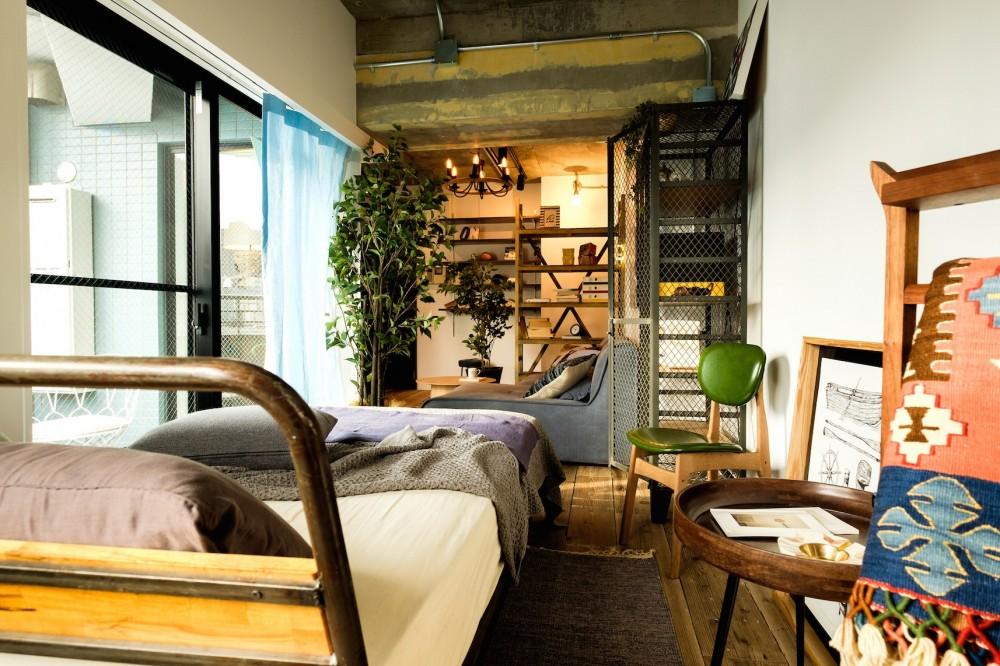 「ただいま」より、「いらっしゃい」が似合うカフェ部屋ライフ。 (iCafe 020 新宿)