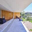神戸町の平屋の写真 テラス