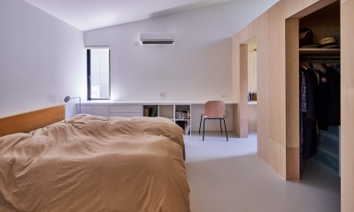 神戸町の平屋 (寝室)