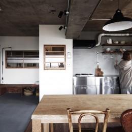 混ぜるほどに味が出る暮らし。愛知県安城市・マンションリノベーションK様邸 (LDK)