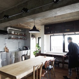 混ぜるほどに味が出る暮らし。愛知県安城市・マンションリノベーションK様邸