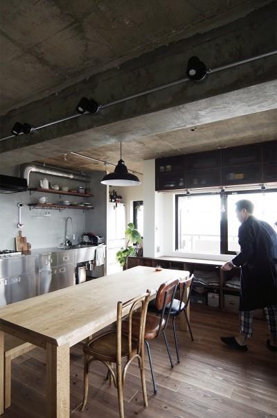 混ぜるほどに味が出る暮らし。愛知県安城市・マンションリノベーションK様邸 (パントリー)