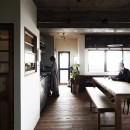 混ぜるほどに味が出る暮らし。愛知県安城市・マンションリノベーションK様邸の写真 ダイニングキッチン