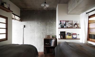 混ぜるほどに味が出る暮らし。愛知県安城市・マンションリノベーションK様邸 (寝室)