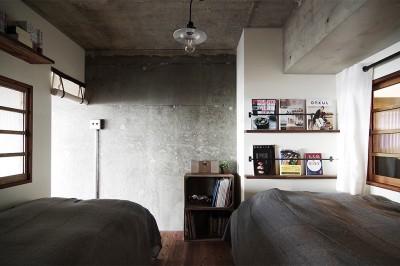 寝室 (混ぜるほどに味が出る暮らし。愛知県安城市・マンションリノベーションK様邸)