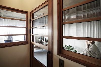 廊下 (混ぜるほどに味が出る暮らし。愛知県安城市・マンションリノベーションK様邸)