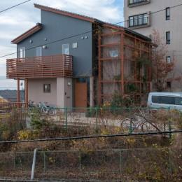 小立野台地の家|街を見下ろす眺望の良い家 (外観)