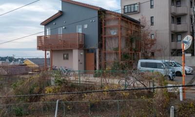小立野台地の家|街を見下ろす眺望の良い家