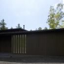 軽井沢の家の写真 正面外観