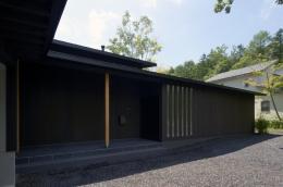軽井沢の家 (エントランス廻り01)