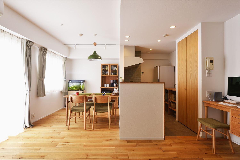 キッチン事例:キッチン(O邸_自分たちらしくナチュラルに)