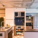 リノキューブの住宅事例「OKAERI~ついつい「ただいま!」と言いたくなる。気がつけばみんなが集まっている、そんな住まい~」