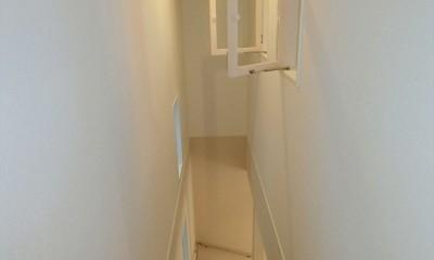 階段|デザイナーズ企画仕様:シンプルハウスN
