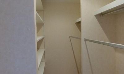 ウォーキングクロゼット|デザイナーズ企画仕様:シンプルハウスN