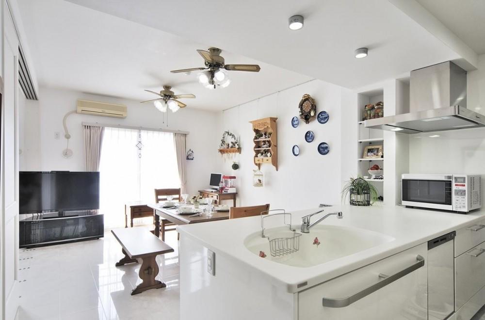 卓上IHコンロでセパレート可能なフリースタイルキッチン (ダイニングキッチン)