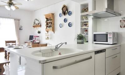 キッチン|卓上IHコンロでセパレート可能なフリースタイルキッチン