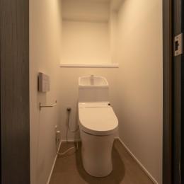 マンションリフォーム『Industrial styleと畳フローリングの融合』 (トイレ)