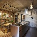 ナサホーム NasaHomeの住宅事例「おうち図書館×大人の秘密基地がテーマのこだわりの住まい」