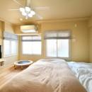 川崎市T様邸 ~風の通り道~の写真 主寝室