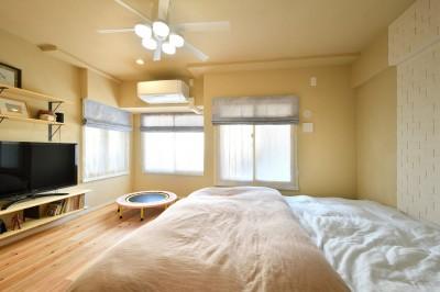 主寝室 (風の通り道)
